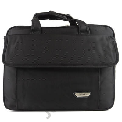 Aoking 347 bővíthető fekete laptoptartós táska eleje