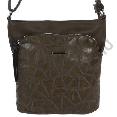 Silviarosa 5363 kávébarna műbőr női táska