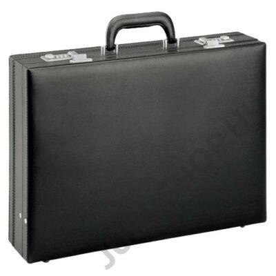 DN2625 fekete műbőr diplomata táska