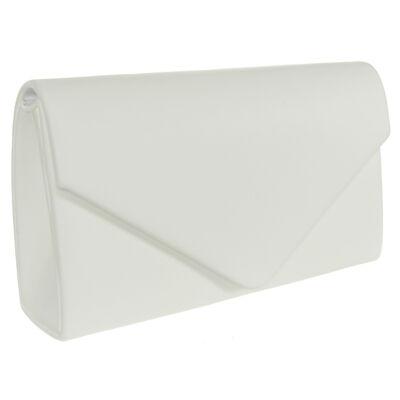 Luca B 6114-1 fehér alkalmi táska