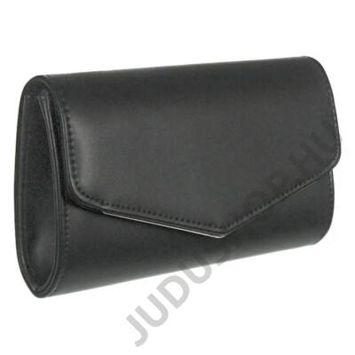 XQ9013 fekete műbőr alkalmi táska