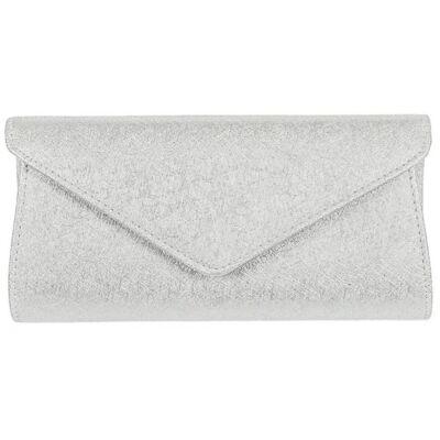 Runfa xq9018 ezüst alkalmi táska