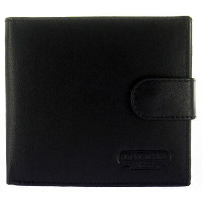 NP60 fekete bőr férfi pénztárca