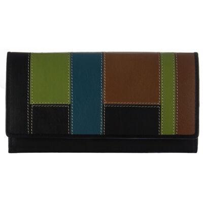 by Lupo 10911 fekete női bőr pénztárca