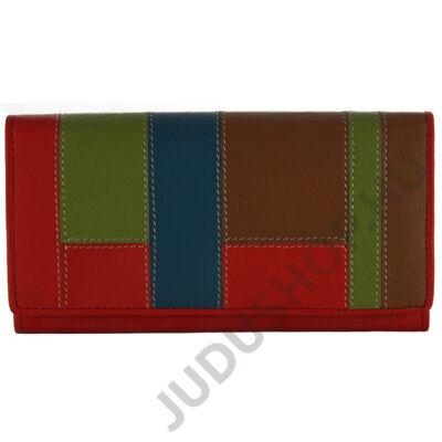 by Lupo 10911 piros női bőr pénztárca
