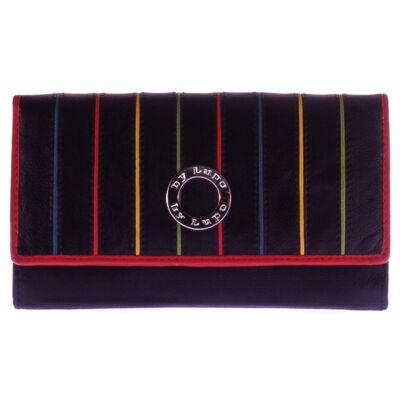 by Lupo 180010 fekete női bőr pénztárca