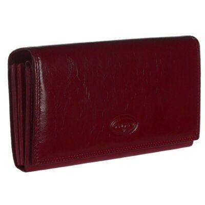 xh2006-3266 bordó brifkós bőr pénztárca