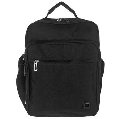 Adventurer AT 520 fekete férfi táska eleje