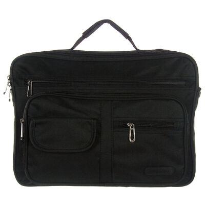 Adventurer AT527 fekete férfi táska eleje