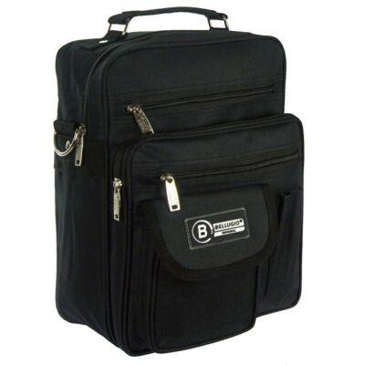 Bellugio fekete álló férfi táska