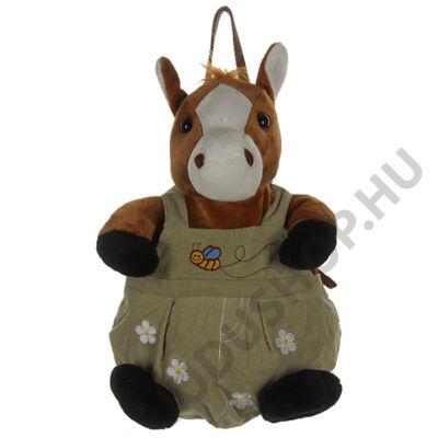 Nadrágos ló plüss háti