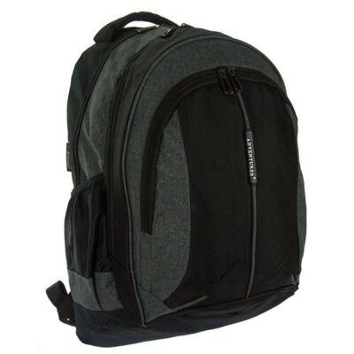 W5529B fekete-szürke hátizsák
