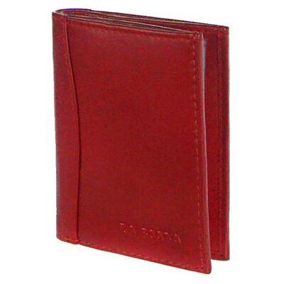 Lascala ad2038 piros bőr kártyatartó