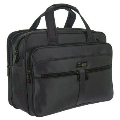 sd3811 szürke laptoptartós vászon táska