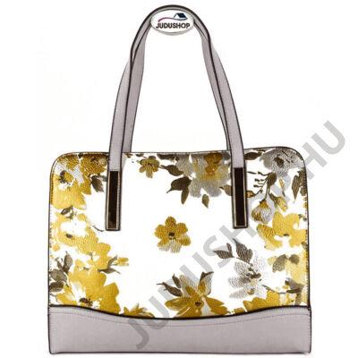98260 virágmintás kétrészes műbőr női táska