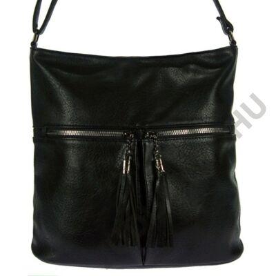 Erick a5626-fekete műbőr női táska