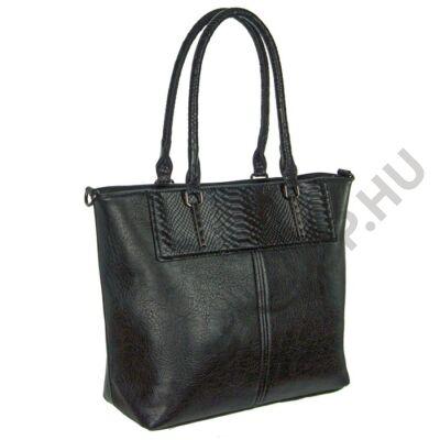 Erick a5901 fekete műbőr női táska