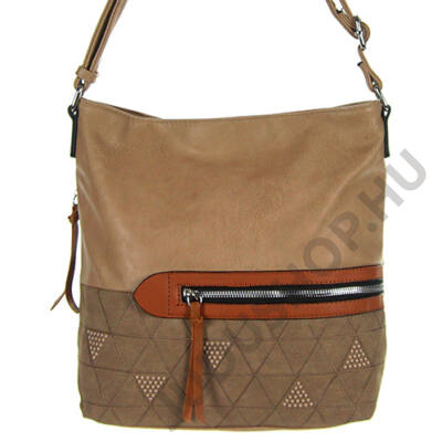 Fengda 6610 mogyoró női táska