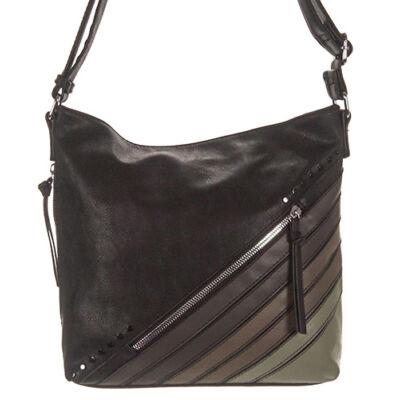 Fengda 77923 fekete női táska