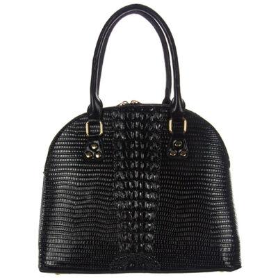 Grace y3858 fekete műbőr női táska