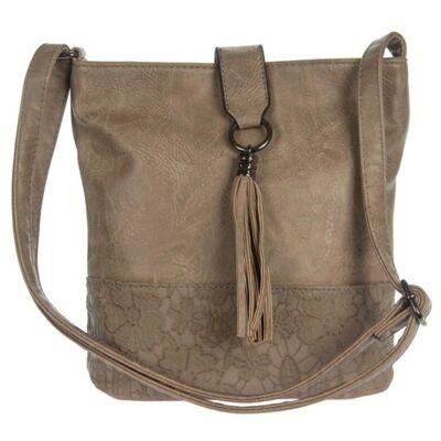 Gullig 7100 kávé színű műbőr női táska