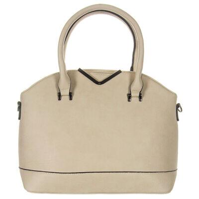L82115 bézs műbőr női táska