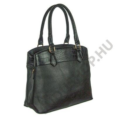 k 223 fekete női műbőr táska
