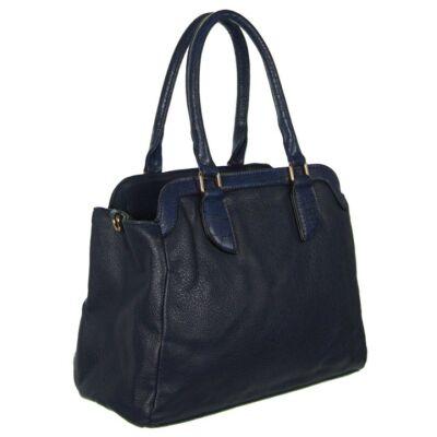 K225 kék női műbőr táska