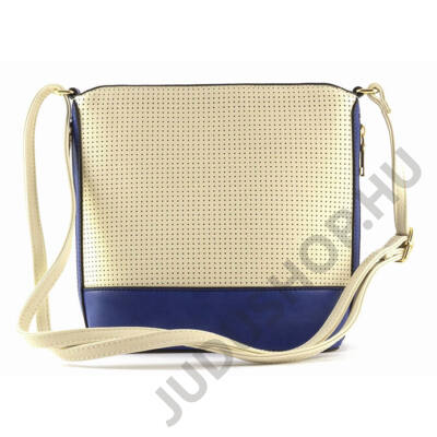 ILF lyukacsos kisméretű bézs női táska vállpánttal