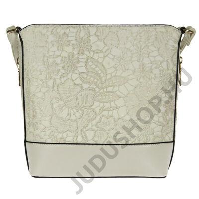 ILF h155 fehér virágmintás női táska