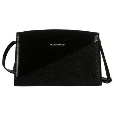 Lamma 193 fekete műbőr női táska