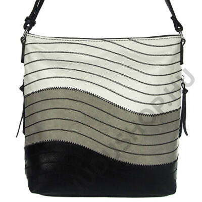 Lida 2299 fekete műbőr női táska