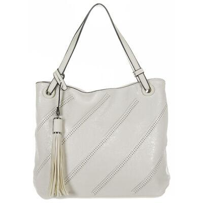 Maria C 467 fehér női műbőr táska