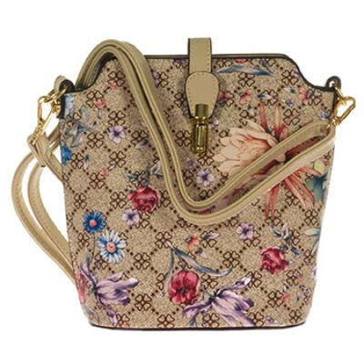 4365 drapp virágmintás kicsi női táska