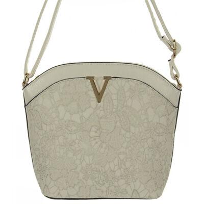 H055 fehér női táska