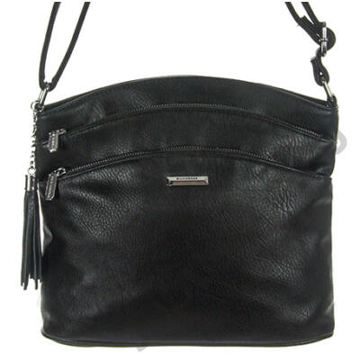 Sr6395 fekete műbőr táska