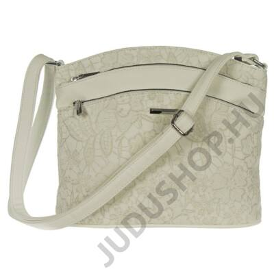 SilviaRosa  6345 fehér műbőr táska
