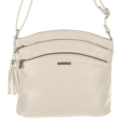 Sr6395 fehér műbőr táska