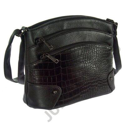Urban S 219-1 krokos fekete női táska
