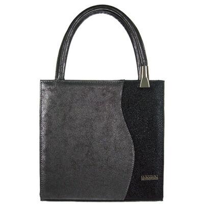 Nike ll grafi-fekete rostbőr női táska