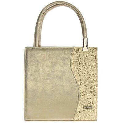 Nike II arany-drapp rostbőr női táska