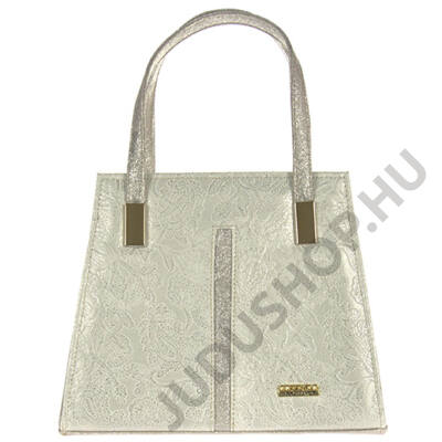 Corrado smerfetka ezüst rostbőr női táska