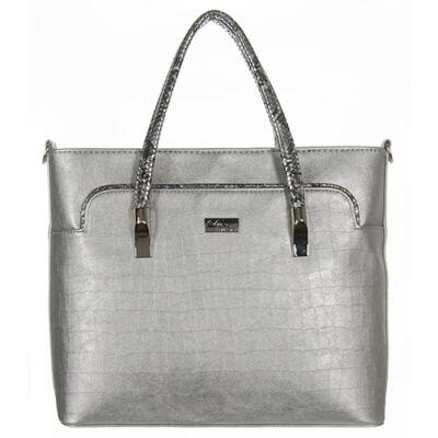 Díva 609-2 ezüst női táska
