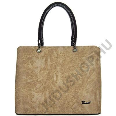 Karen 2254 fekte-kávé nyomott női táska