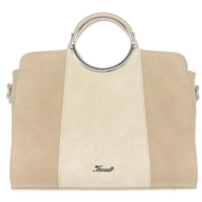 Karen 9301 drapp rostbőr táska