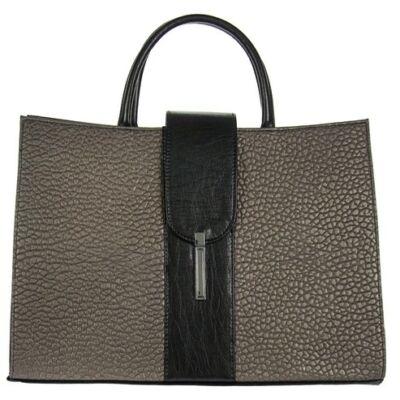 Karen h136 fekete-bronz női táska