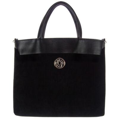 Prestige f696 fekete női táska eleje