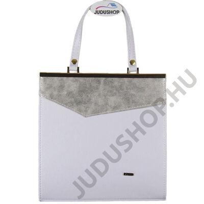 VIA 1049 fehér ezüst női táska eleje