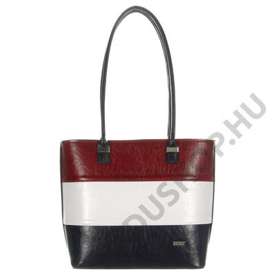 VIA 1103 trikolor rostbőr női táska