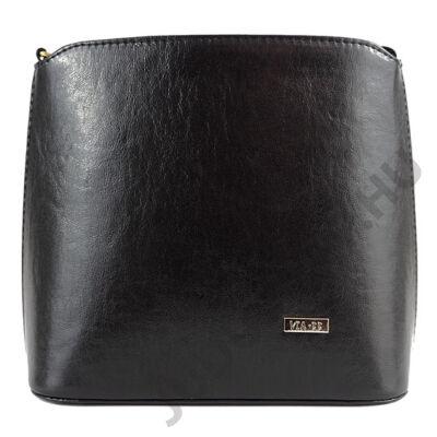 VIA 1202 fekete női táska eleje